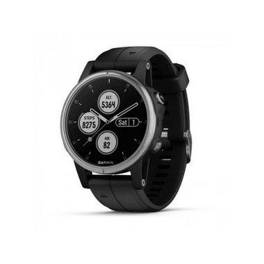 Смарт часовник Garmin Fenix 5S Plus Silver 010-01987-21