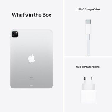 "Таблет Apple iPad Pro 12.9"" (5th) Wi-Fi 512GB Silver mhnl3 , 512 GB, 8 GB"