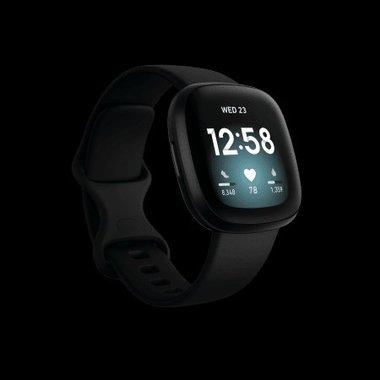Смарт часовник Fitbit VERSA 3 Black/Black FB511BKBK , 1.58 , 4
