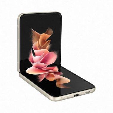 Смартфон Samsung GALAXY Z FLIP 3 256GB CREAM SM-F711BZEE , 256 GB, 8 GB