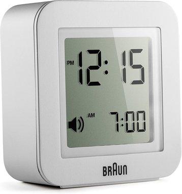 Часовник Braun BNC018WH Travel Alarm аларма настолен часовник