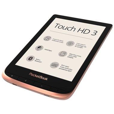 Електронна книга POCKETBOOK TOUCH HD3 PB632 Spicy Copper
