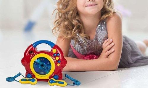 Детска музикална система AEG CDK 4229 преносим CD