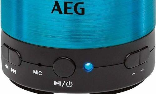 Bluetooth колонка AEG BSS 4826 малка колона портат