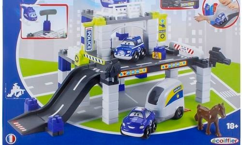 Детски конструктор Полицейски гараж Ecoiffier Abri