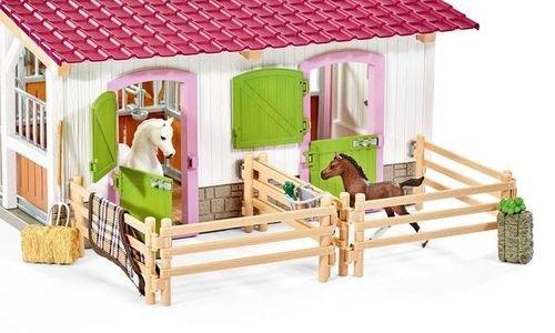 Център за езда с коне и аксесоари Schleich 42344 ф