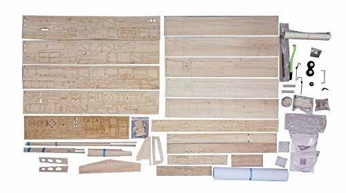 Дървен макет на изтребител Jamara 006151 Mustang P