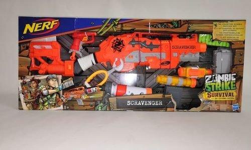 Nerf Zombie Scravenger Strike Blaster Hasbro E1754