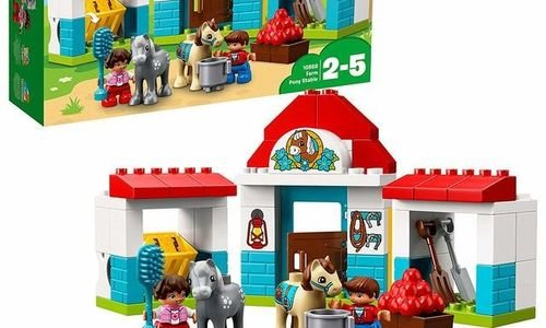 Конструктор LEGO Duplo 10868 Конюшня за понита във
