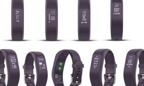 Фитнес гривна Garmin Vivosmart 3 OLED Touch Screen