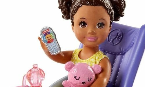 Кукла Скипър детегледачка Mattel Barbie FJB00 Барб