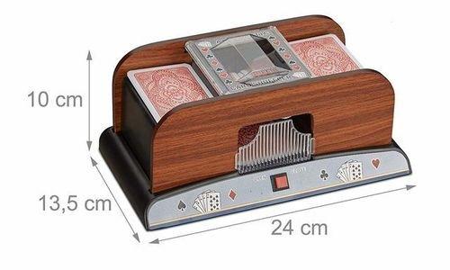 Машина за разбъркване на карти Relaxdays 10021343