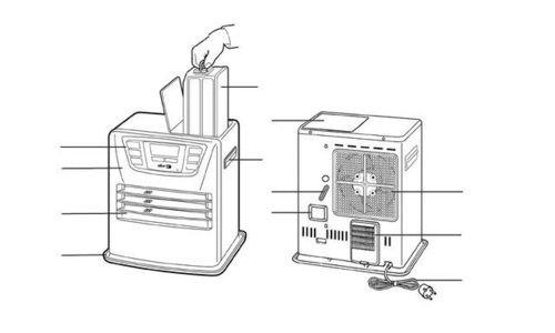 Електрическа керосинова печка Toyotomi Zibro LC 40