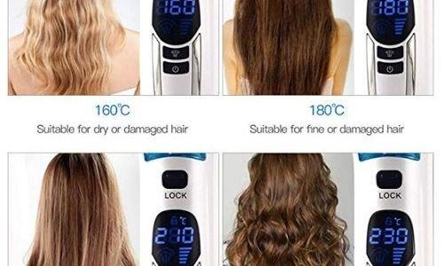 Преса за коса изправяне с пара Inkint 1136751 42W