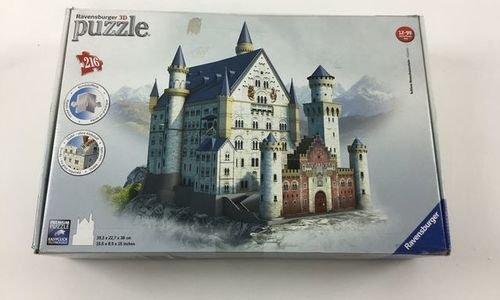 3D пъзел Замък Нойшванщайн Ravensburg 125739 замък