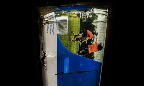 Врата за футбол Hudora 76128 футболна врата 300 x