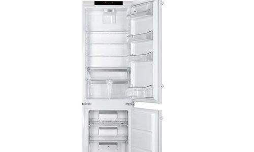 Хладилник с фризер за вграждане SMEG C7280NLD2P A+