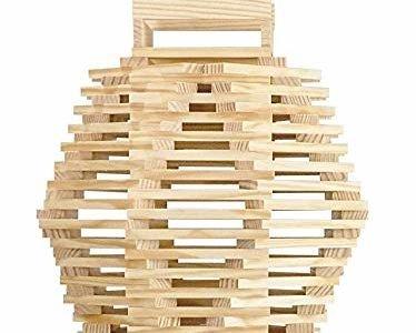 Детска дървена игра Дженга Jeujura 8335 дървена ку