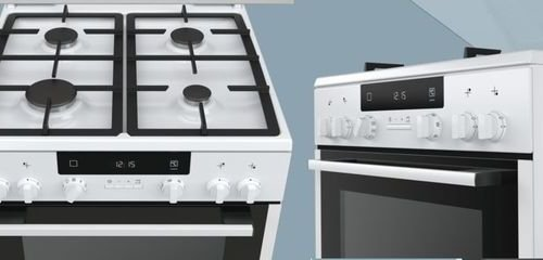 Комбинирана готварска печка Siemens HX745225 iQ300