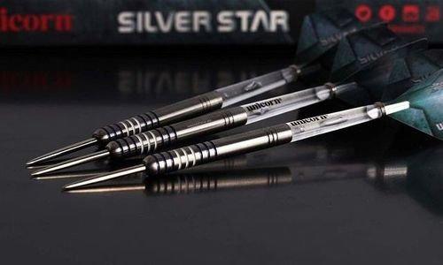 Стрели за дартс Unicorn Silver Star 80% волфрам Ga