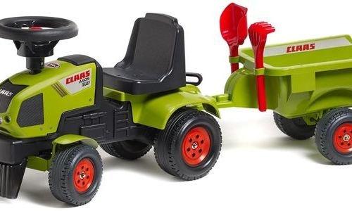 Детски трактор с ремарке Falk CLAAS 1012C за бутан