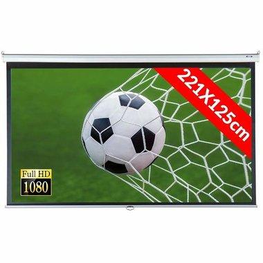 Екран за проектор Jago BELE08 221х125см 100инча HD