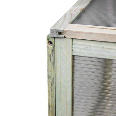 Дървен мини парник Wooden DIY Greenhouse оранжерия