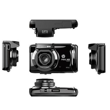Видеорегистратор НР F800G Full НD 1080р 12 V GPS