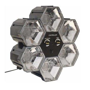 Лед диско лампа Partyfunlights 86462 присветване