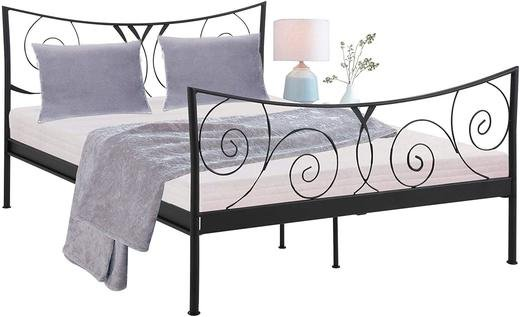 Легло Domus Scandinavia Isabelle 195277 спалня мет