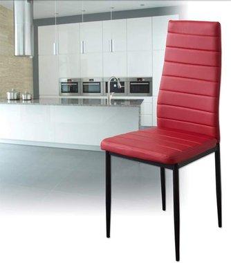 Трапезен стол Albatros Milano 2868 ALBPM Комплект 2 броя червен