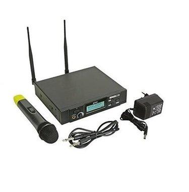 Безжичен микрофон Velleman HQ Power MICW42 UHF PLL