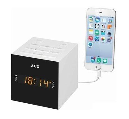 Радиочасовник AEG MRC 4150 Black радио часовник ал