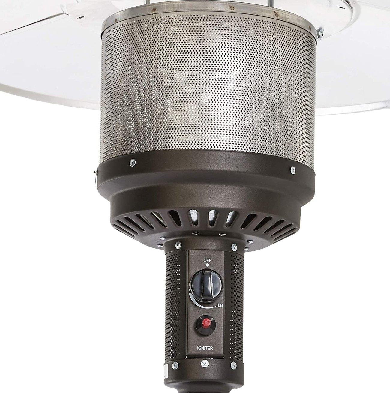 Газова печка гъба Amazon Basics Stufa a fungo 62714 градински газов отоплител газов калорифер