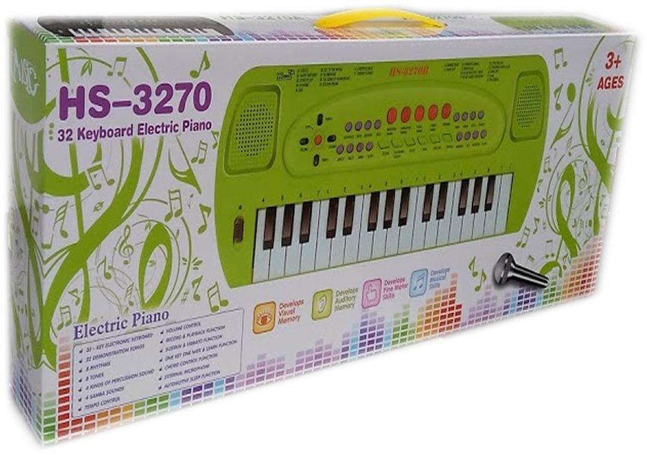 Детска играчка Йоника с 32 клавиша и микрофон