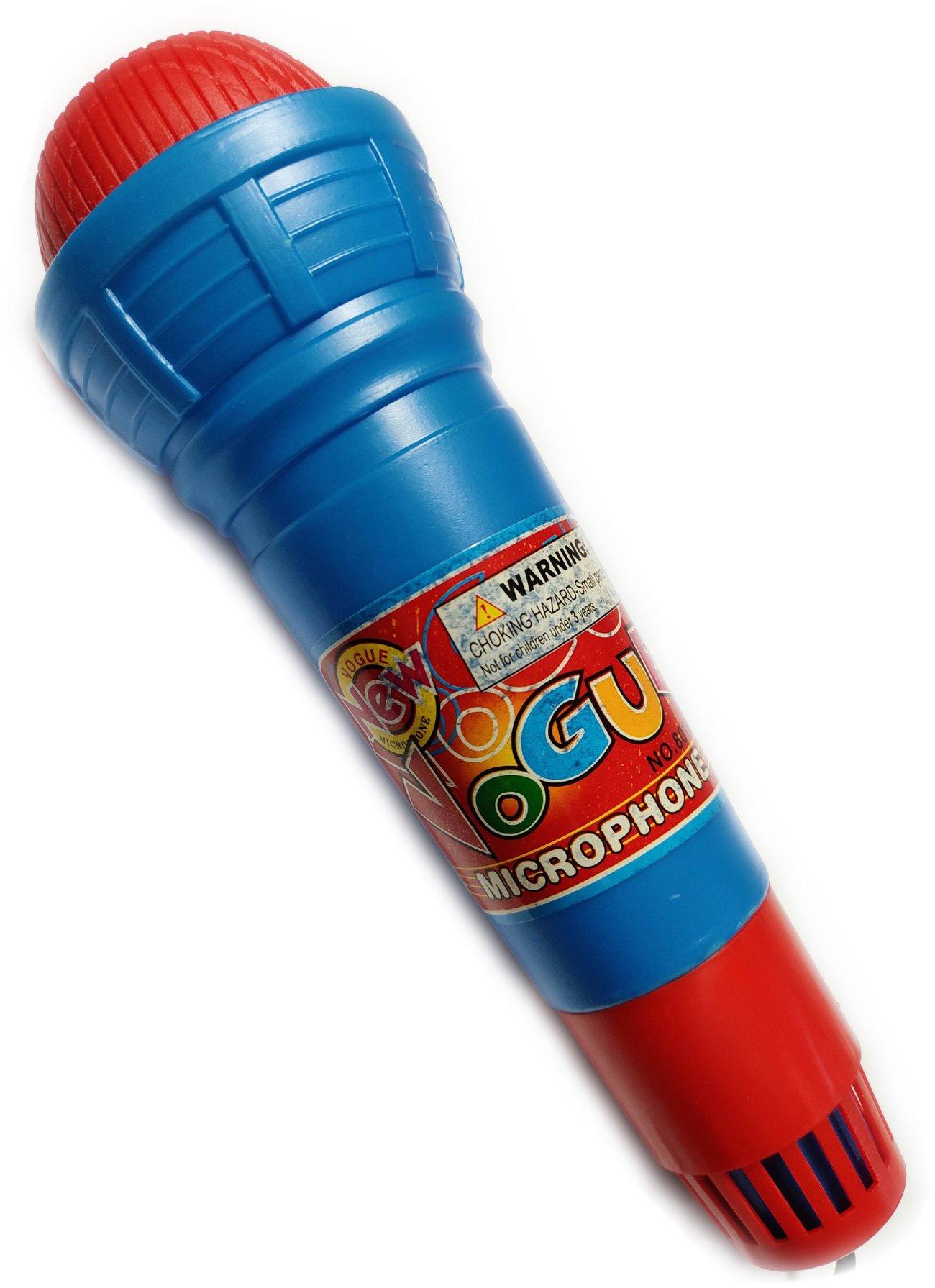 Детска играчка Акустичен микрофон за малката певица и певец.