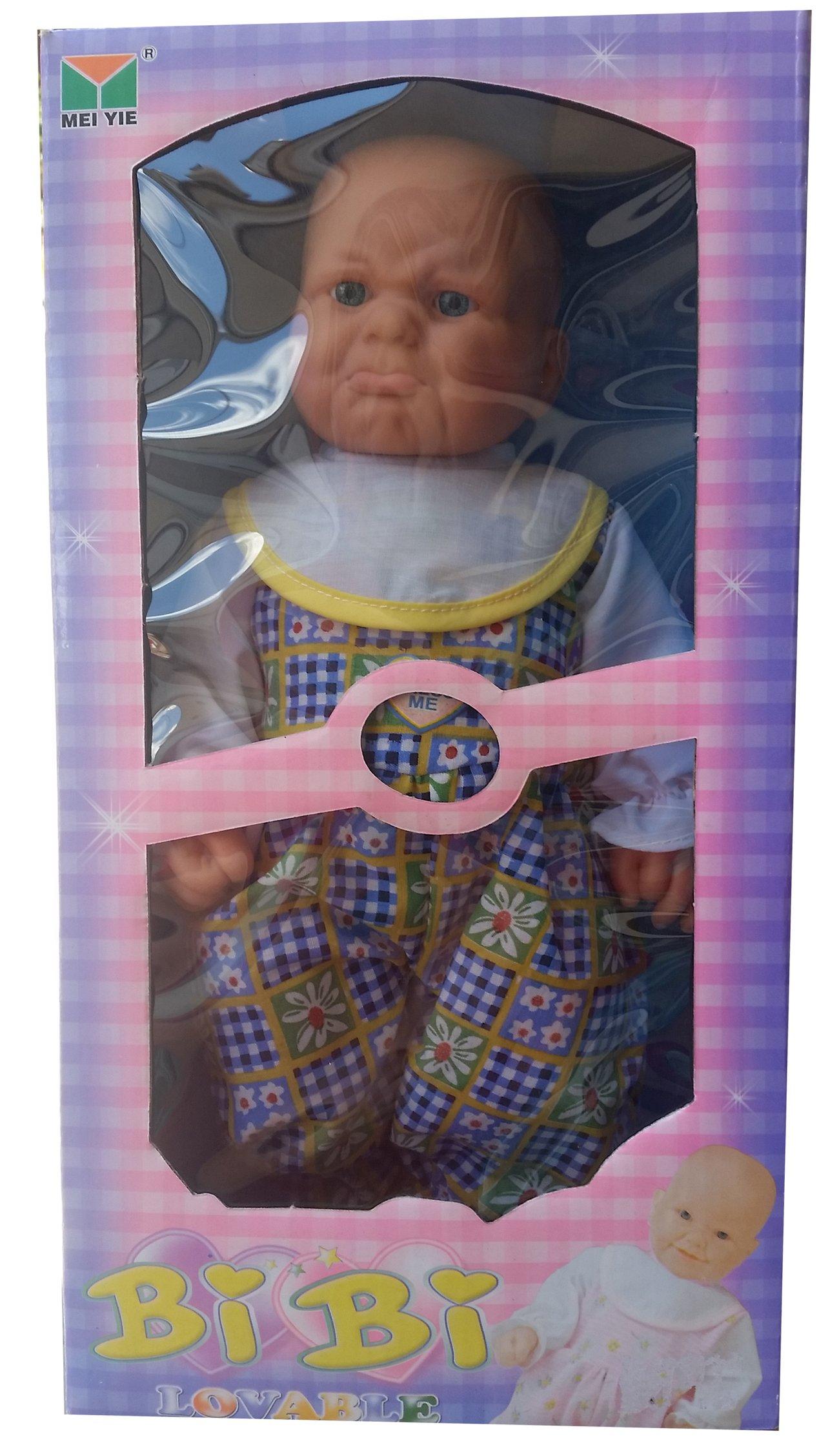 Интерактивна кукла Момче Биби BiBi - плаче и се смее