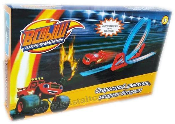 Детска играчка Писта с коли Пламъчко.