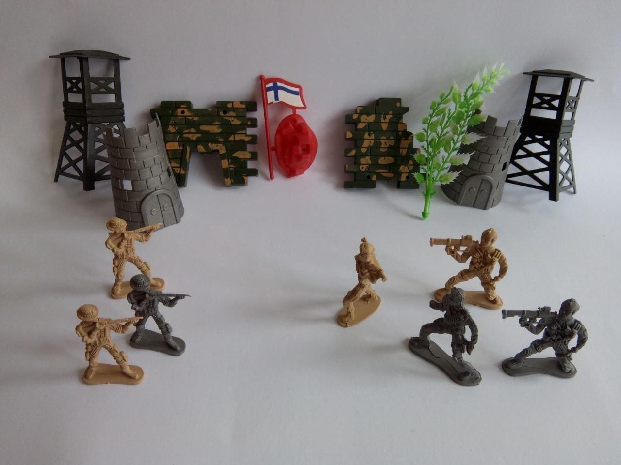 Детска играчка комплект Комбат Combat с Войници.