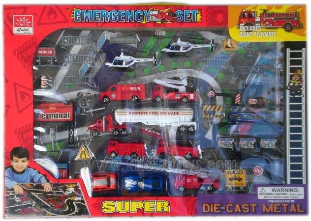 Детска играчка Комплект Спасителен отряд Emergency set