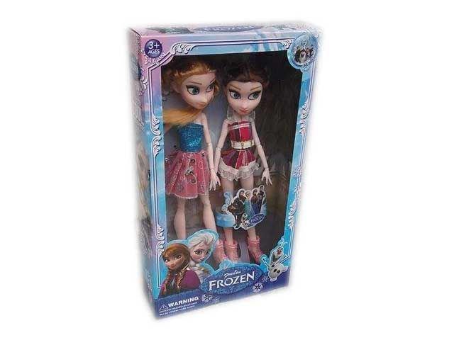 Замръзналото кралство Детски комплект две кукли Елза и Анна,  Фрозен Frozen