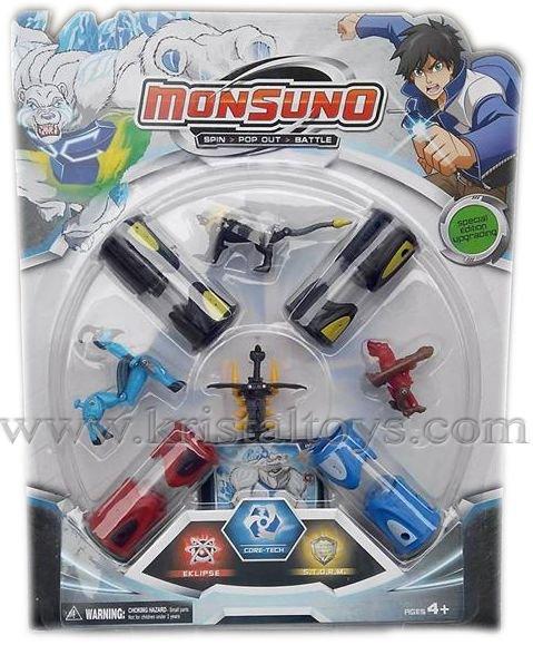 Детска играчка Монсуно, Вълнуващо приключение, смели герои, силни чудовища - Monsuno 8806