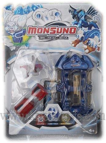 Детски комплект Монсуно, Вълнуващо приключение, смели герои, силни чудовища - Monsuno + държач 02