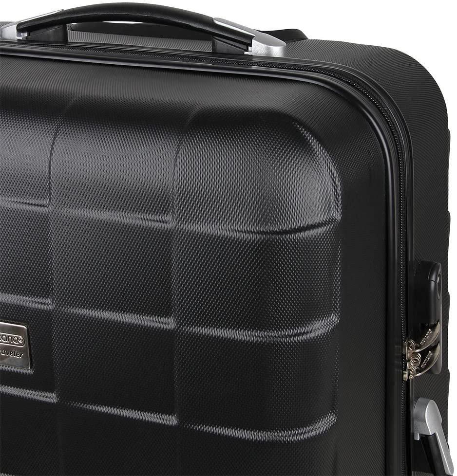 Комплект куфари Monzana Deuba 3 броя M L XL твърди куфари с колела