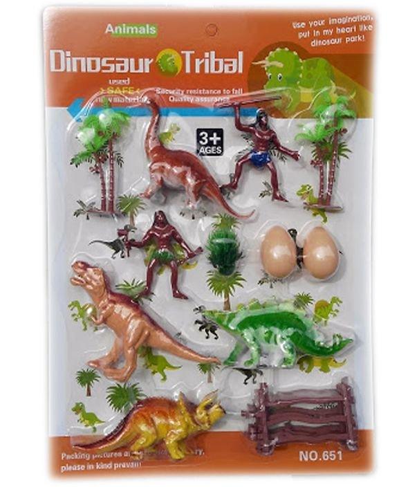 Детски комплект Динозаври на картон