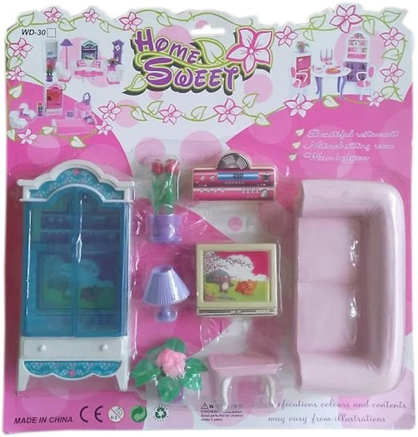 Детски комплект Обзавеждане за кукли.