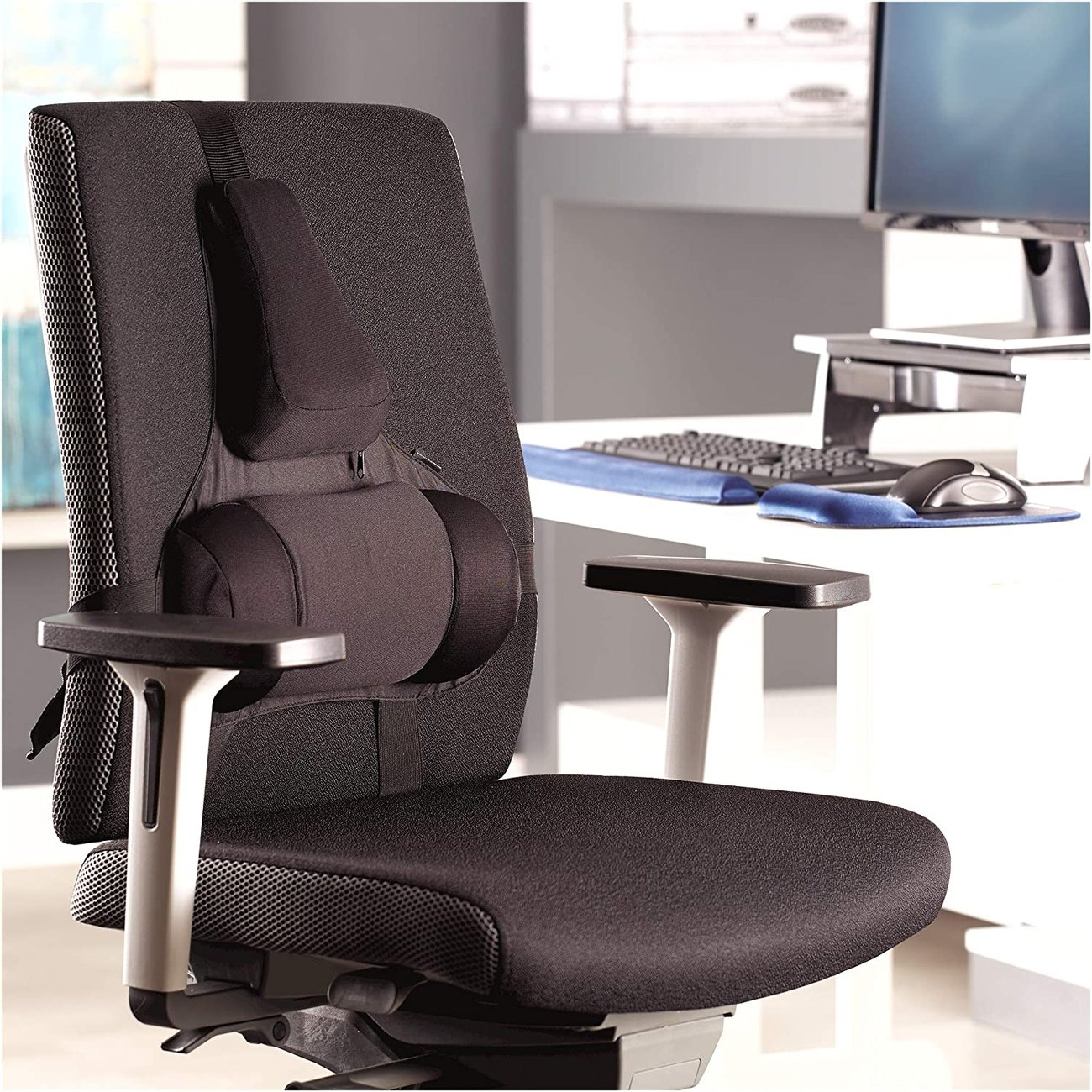 Облегалка за стол Fellowes Professional Series Ultimate Support Black 8041801
