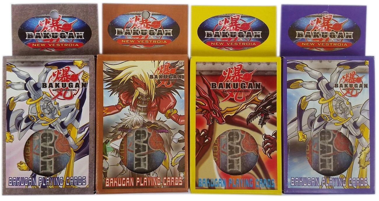 Детски карти за игра и колекция Бакуган Bakugan
