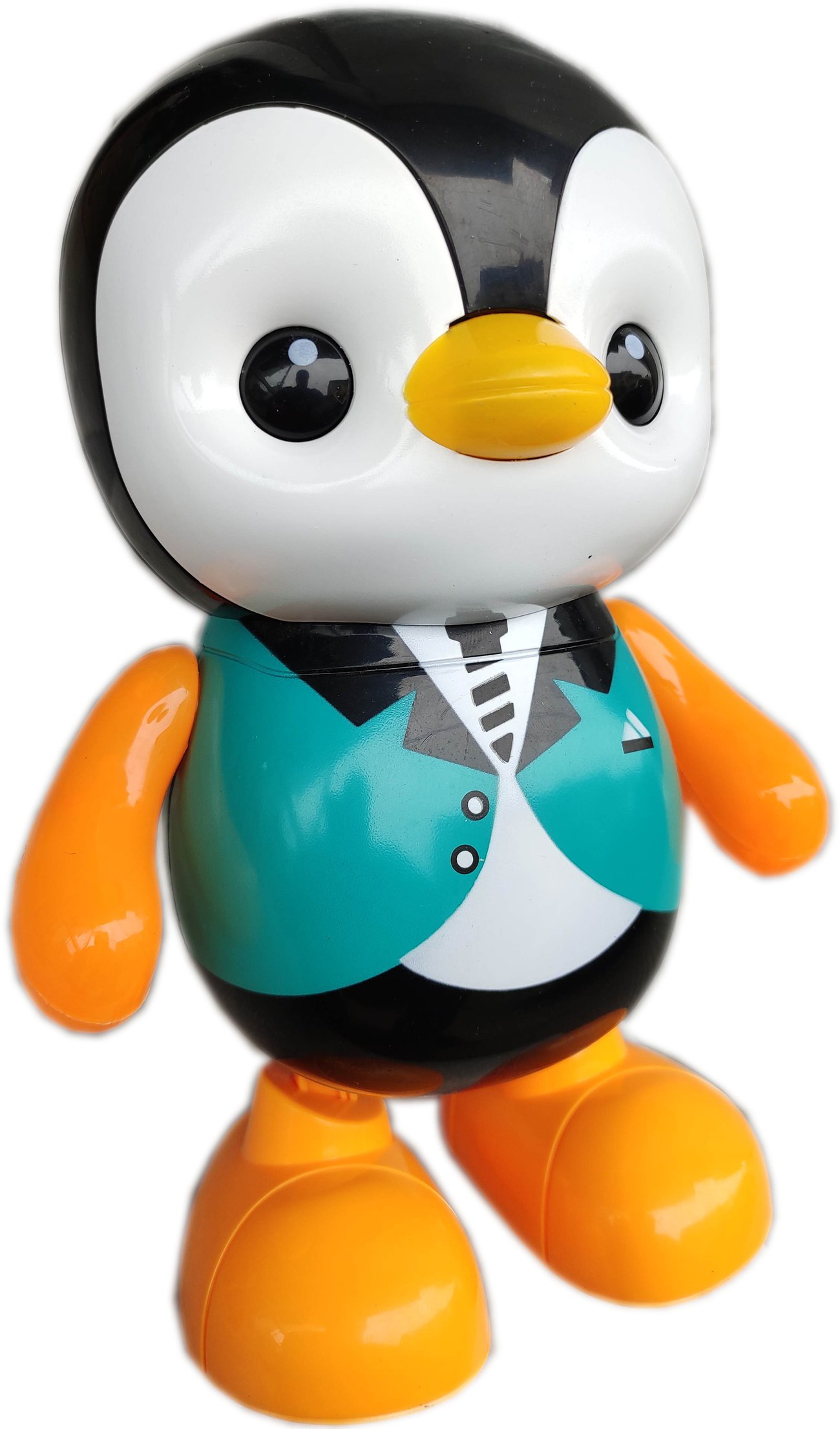Детска занимателна играчка Танцуващ Пингвин със светлина и звук