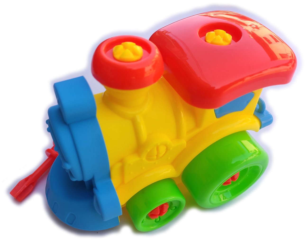 Детска играчка Конструктор с форма на Локомотив с инструмент